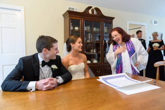 jewish wedding rabbi