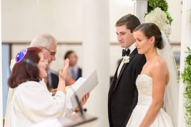 jewish wedding officiant